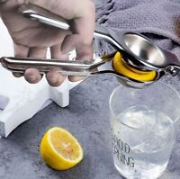 US-Stainless Steel Lemon Orange Lime Squeezer Juicer Hand Press Kitchen&Bar Tool