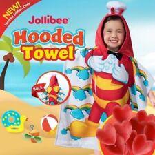 JOLLIBEE KIDDIE ROBE TOWEL WITH HOOD *SEALED Limited Edition