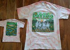 Bonnaroo 2007 Music Festival Tie Dye T-Shirt Jack White-Police-The White Stripes