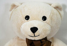 NEXT light brown softy toy teddy bear plush suitable  brown Ribbon Bow (L)