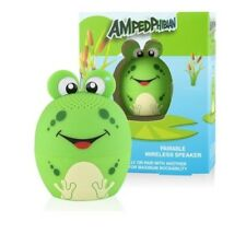 My Audio Pet Pairable Mini Bluetooth (TWS) Stereo Speaker - Ampedphibian - Frog