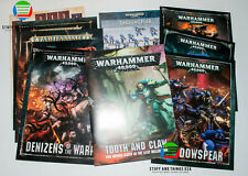 Warhammer 40K - Codex and Campaign Book and Token Collection FAST+FREE SHIPPING!