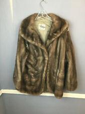 CUTTER Gray Mink Fur Jacket craft