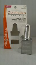 Sally Hansen Continuous Treatment Time Released Base and Top Coat Formula Nail