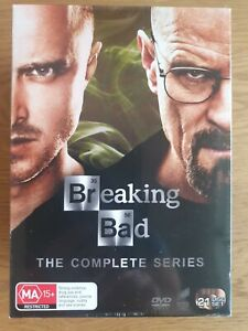Breaking Bad Complete Collection (DVD, 2014, 21-Disc Set) Season 1 to 5