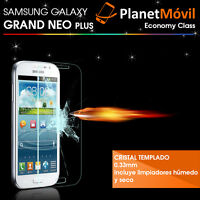PROTECTOR DE CRISTAL TEMPLADO SAMSUNG GALAXY GRAND NEO PLUS GRAN TEMPERED GLASS