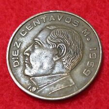 1959 Mexico  10/Diez Centavos  COMBINED SHIPPING DISCOUNT!