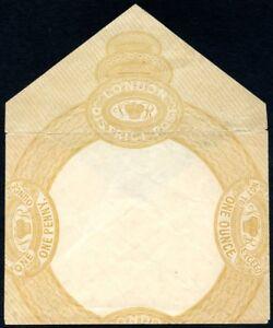 1837 Dickinson 1d yellow envelope essay.