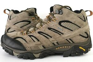 Merrell Moab 2 Leather Mid GORE-TEX Walking Boots, Mens Boots, UK Size 10.5