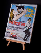Viva Las Vegas Film Poster Canvas Print