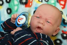 """Baby Real Reborn Doll Clothes Berenguer 15"""" inch Newborn Soft Vinyl Life Like"""