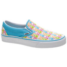 Vans Classic Slip On Blue/Fandango Pink Skull Shoe. Vans Shoes Vans Trainers