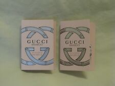 Gucci 'Bamboo' EDP Perfume Vial Set of 2 Beautiful Sexy Fragrance NEW