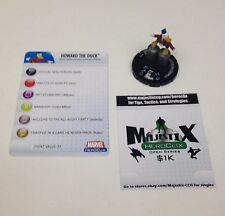 Heroclix Secret Invasion set Howard the Duck #035 Rare figure w/card!