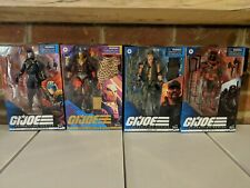 GI Joe Classified 4 Figure Lot: Cobra Commander, Gung Ho, Destro, Red Ninja