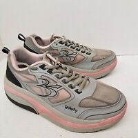 GDEFY Mens Gravity Defyer Comfort Walking Support Shoes Lace Up Size 10.5