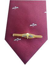 Parachute Regiment Tie & Parachute Qualification Wings Tie Clip Set q138 v4