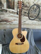 Martin OMCGTE Cherry Guitarra Acustica