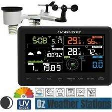 OZWeather™ Solar Powered WiFi Weather Station with Color Display