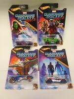 Lot of (4) Hot Wheels - Marvel Guardians of the Galaxy Vol. 2 - NIB