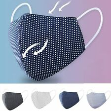 Face Covering Washable Breathable Reusable Adult Mouth Protection Material UK