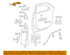 GM OEM-Outside Exterior Door Handle 15930506