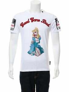 Philipp Plein Embellished 'Good Gone Bad' T-Shirt Size L