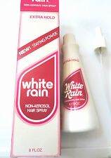 Vinatge White Rain Non-Aerosol Hair Spray W/Pump