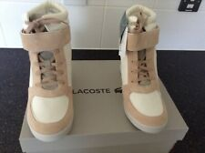 Lacoste Wedge Boots Size 8