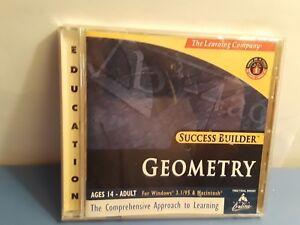 The Learning Company: Geometry (Windows/Mac, 1998) Success Builder