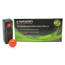 16 Forgan of St Andrews ORANGE TT Distance Golf Balls