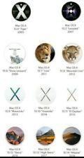 11   OS X  DVD BOOTABLE  DAL OSX  TIGER AL OSX MOJAVE MULTILINGUE [][][][][][]