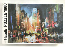 Piatnik Puzzle Times Square 1000 Pieces New Sealed Made In Austria 538148