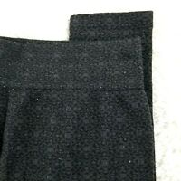 French Laundry womens fleece lined stretch pant SIZE ONE SIZE black legging (P)