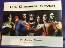 ALEX ROSS Justice League Litho Card Batman Superman Wonder Woman Poster JLA SEE!