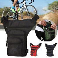 Motorcycle Waist Leg Bag Drop Waterproof Outdoor Thigh Hip Belt Fanny Pack ! !