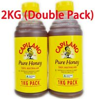 Capilano 100% Australian Honey 2KG Squeeze Bottle (Double Pack)