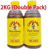 Capilano 100% Australian Honey 2KG Squeeze Bottle (Double Pack)