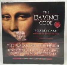 THE DA VINCI CODE OFFICIAL MOVIE MYSTERY BOARD GAME NEW 2006