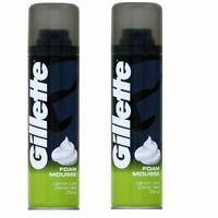 2 X Gillette Shaving Foam Mousse - Lemon Lime (200ml)