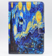 Dr Who Tardis Starry Night PU Leather Stand Case Cover For Apple ipad mini 1 2 3