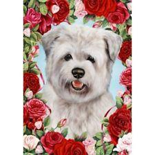 Roses House Flag - Blue Glen of Imaal Terrier 19214