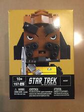 Mega Bloks Kubros Star Trek TNG Worf Building Kit Figure Statue DTW68 *NEW*