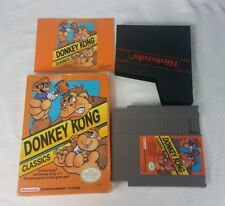 DONKEY KONG CLASSICS NES NINTENDO VIDEO GAME COMPLETE IN BOX GOOD CONDITION