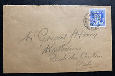 1944 State Office Guernsey England Channel Islands Occupation Cover