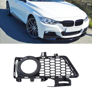 Right Front Bumper Fog Light Grille Cover Fit BMW 3 Series F30 F31 F35 2012-2018