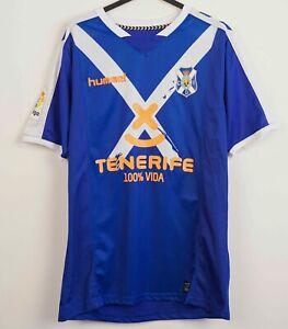 TENERIFE FC Away 2017 2018 Shirt M Men's Jersey Hummel Soccer Kit Tee Football