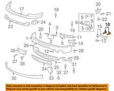 GM OEM Front Bumper-Outer Brace Bolt 11517827