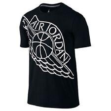Air Jordan Wingspan T-Shirt 748550-010 Black White Mens US size XLarge