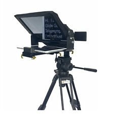 Glide Gear TMP 500 Universal Video Camera Tripod / Shoulder Rig Teleprompter 15m